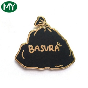 Wholesale Factory Manufacturer Custom Lapel Pin Hard Enamel