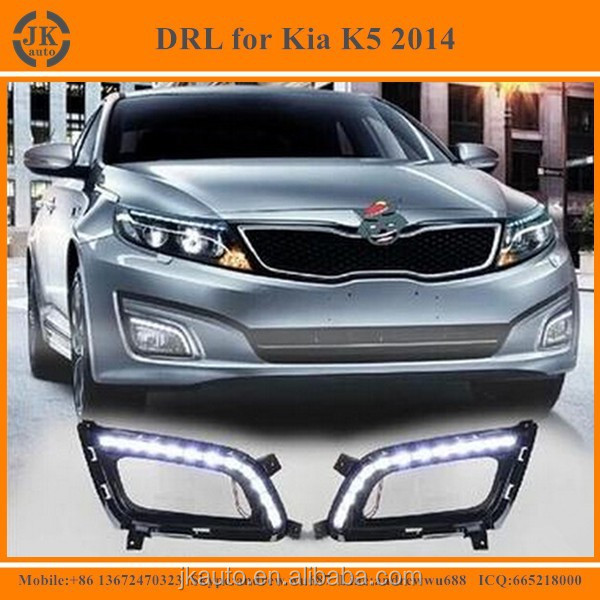 High Quality Super Bright LED DRL for Kia Optima K5 Best Selling LED Daytime Running Light for Kia Optima K5 2014 2015
