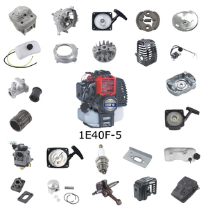 China High Performance 43cc Gasoline brush cutter engine 1e40f-5 parts