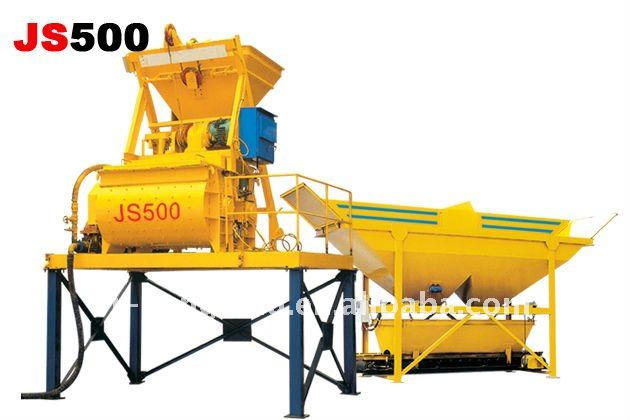 High Quality Twin-Shaft Concrete Mixer for Concrete Batch Plant
