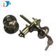 Standard Single Latch Vintage Stainless Steel Round Knob Cylinder Lock
