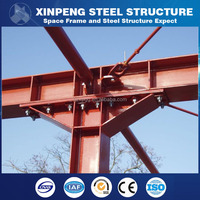 prefab aluminum frame truss iron galvanized structure tube building