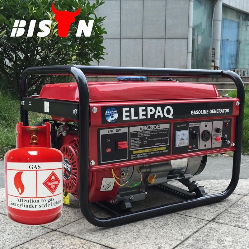Bison glp gas natural generador generadores slient 2kv - Generador de gas ...