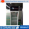 cafeteria equipment upright glass door chiller cold showcase display refrigerators