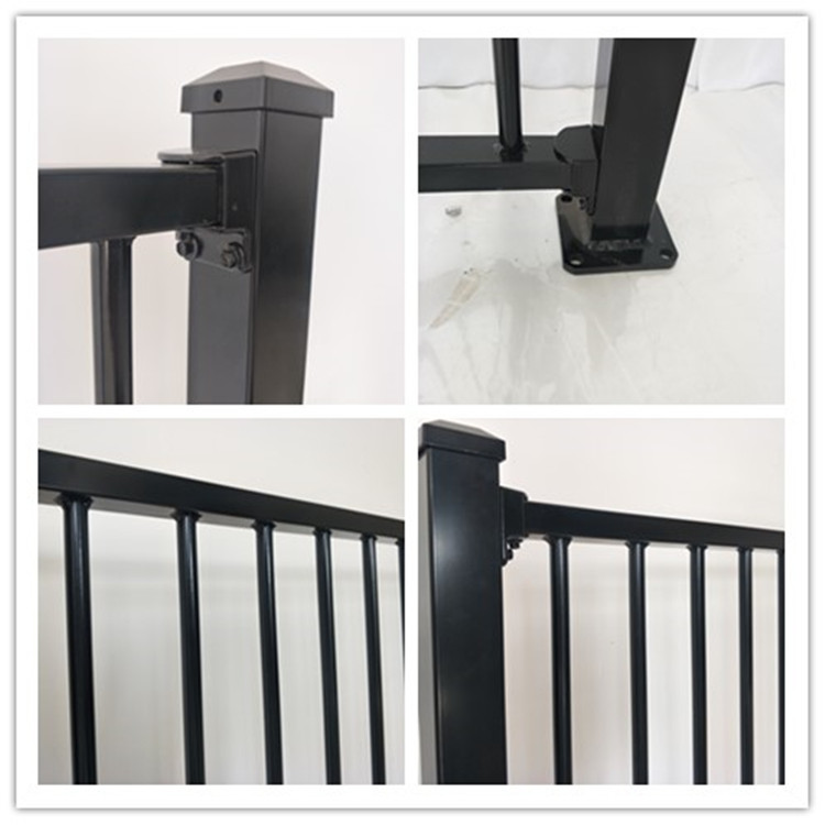 Factory Direct Powder Coated Aluminum Decorative Metal Fence Panels
