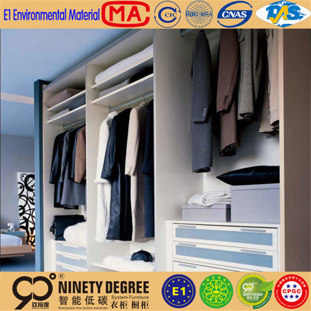 Different Sizes Cloakroom Series Wholesale China Factory Aluminum Closet  Wardrobe Pole System