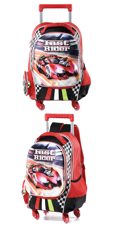 Karabar Wildlife Kids Trolley Luggage Bag