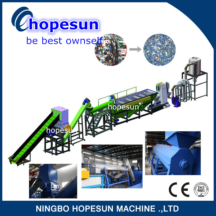 Good price of plastic bottle recycling production line