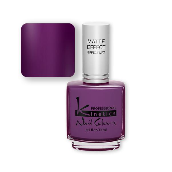 Kinetics dark purple color gel polish 15ml matte nail polish in bulk ...