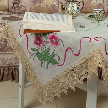 New Arrival Oem Design Personalized Overlay Underlay Table Cloth
