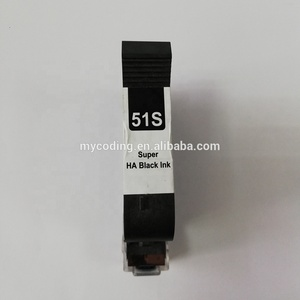 Quick Dry Ink Black Cartridge for Hand held Printer Online TIJ Inkjet Printer Ink