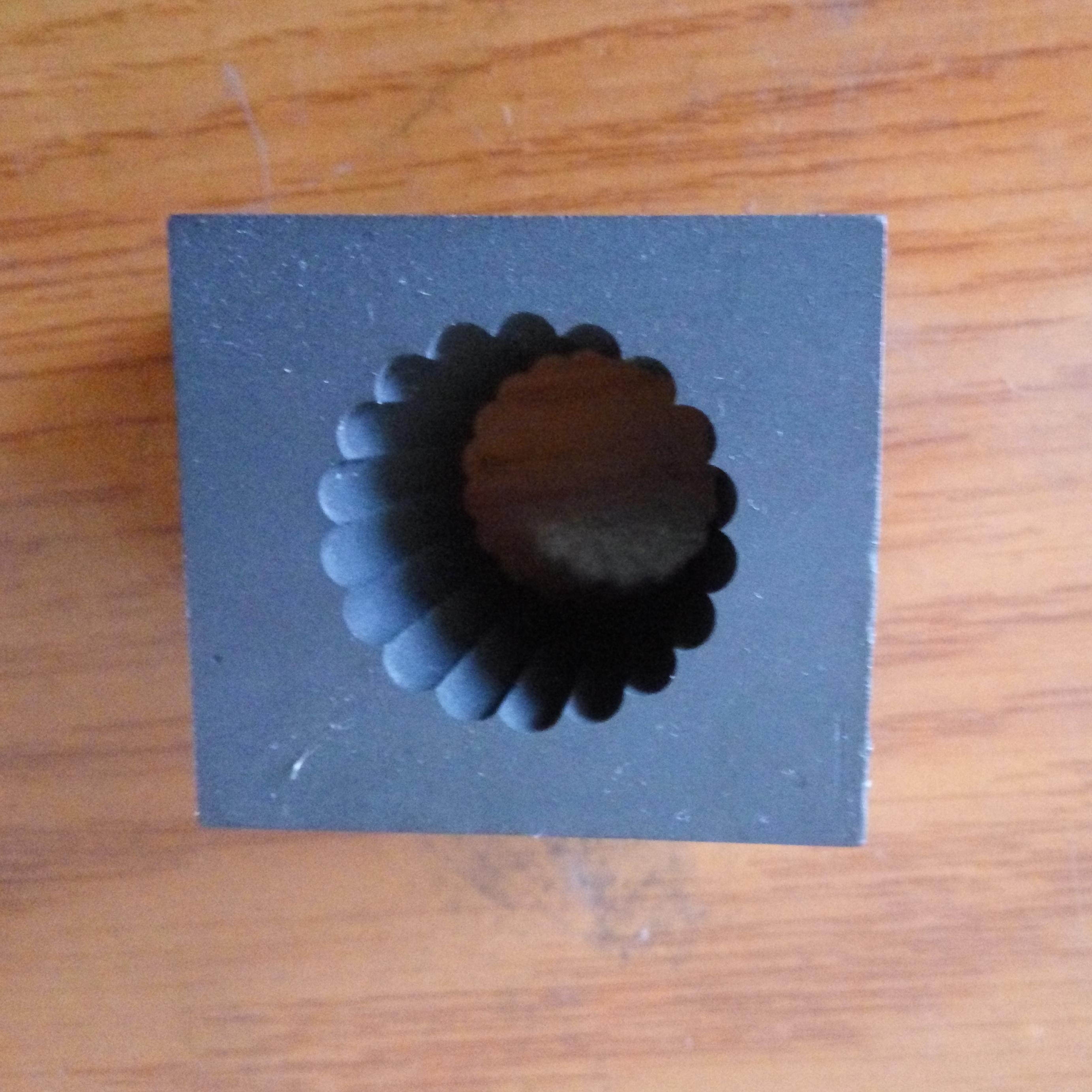 special shaped custom logo graphite mould