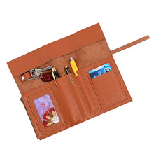Factory Leather Gift Pen Holder,Gift Pen Holder with Card Slots