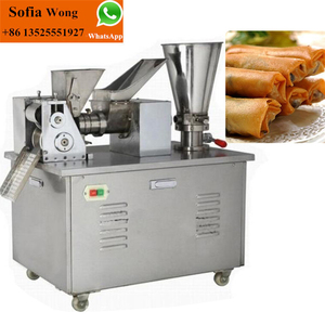 Dumpling machine/Small spring roll machine/ india Curry puff machine