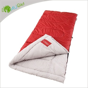 Custom Outdoor Compact Ultralight Winter Cold Weather / 4 Season Envelope Down Camping Sleeping Bag