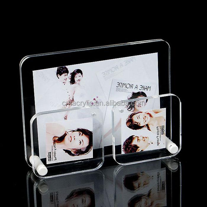 Benutzerdefinierte Leere Acryl Bilderrahmen Kühlschrankmagnet ...