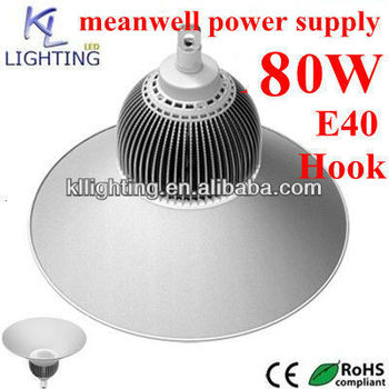 80w! New !!! E40/hook High Bay Led 80w