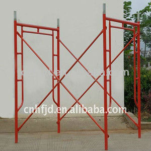 Q235 1219*1700mm Painted Scaffolding Frame Mason frame