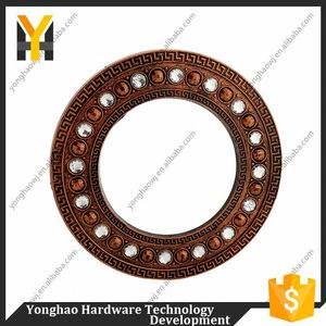 Hot selling more colors choice ring accessories plastic curtain eyelets for window