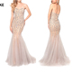 High Quality Elegant Sleeveless mermaid dress evening sexy long mermaid luxury ball gown dress,gowns for women