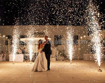 2M20S, 3M30S, 4M30S, 5M45S, 6M60S, 10M60S cold pyro fireworks/indoor fireworks/stage ice fountain fireworks for wedding