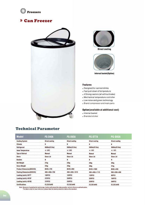 Electric Can Cooler ~ Promotional fridge electric round can cooler for beverage