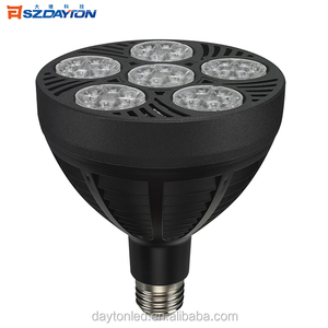 China professional commercial lighting PAR30 PAR38 led spotlight 60w jewelry lighting jewelry business lighting
