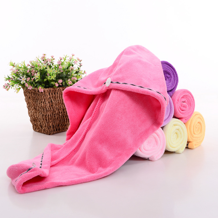wholesale soft Custom towels with cotton microfibre bamboo organic hair towel