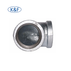 "90 Degree Galvanized Pipe Fittings Maiieable Iron Solid Elbow Gi Cast Iron Elbow 2"" malleable iron elbow for gas"