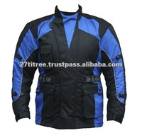"Mens Windproof Waterproof Textile Motorbike Motorcycle Red & Black Racing Cordura Jacket New CE Armour (Chest 38""..."