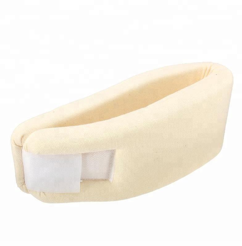 Amazon Best Selling Soft Foam Medical Neck Collar Sponge Neck Brace Pillow
