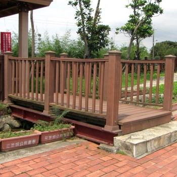 Cheap Durable Wpc Railing For Balcony /terrace With Modern ...