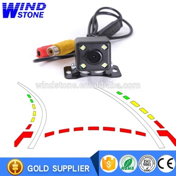 Car Trajectory Rearview Camera for Parking