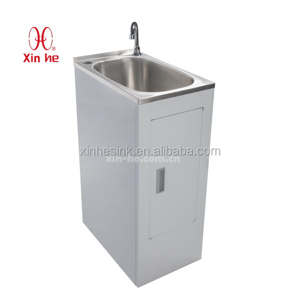 popular economy stainless steel laundry sink cabinet buy stainless steel laundry sink. Black Bedroom Furniture Sets. Home Design Ideas