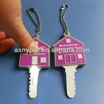 Pvc key cover with led light in house shape buy plastic for House key cover with light