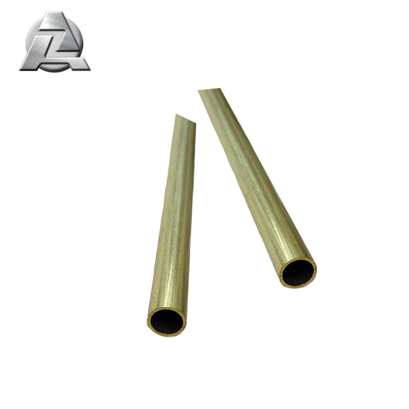 High Quality Anodized aluminum alloy 6061 hollow pipe tube profile