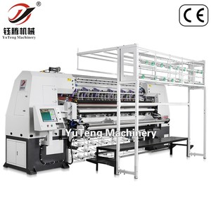 High-Speed Computerized chain stitch multi-needle rotary hook quilting machine