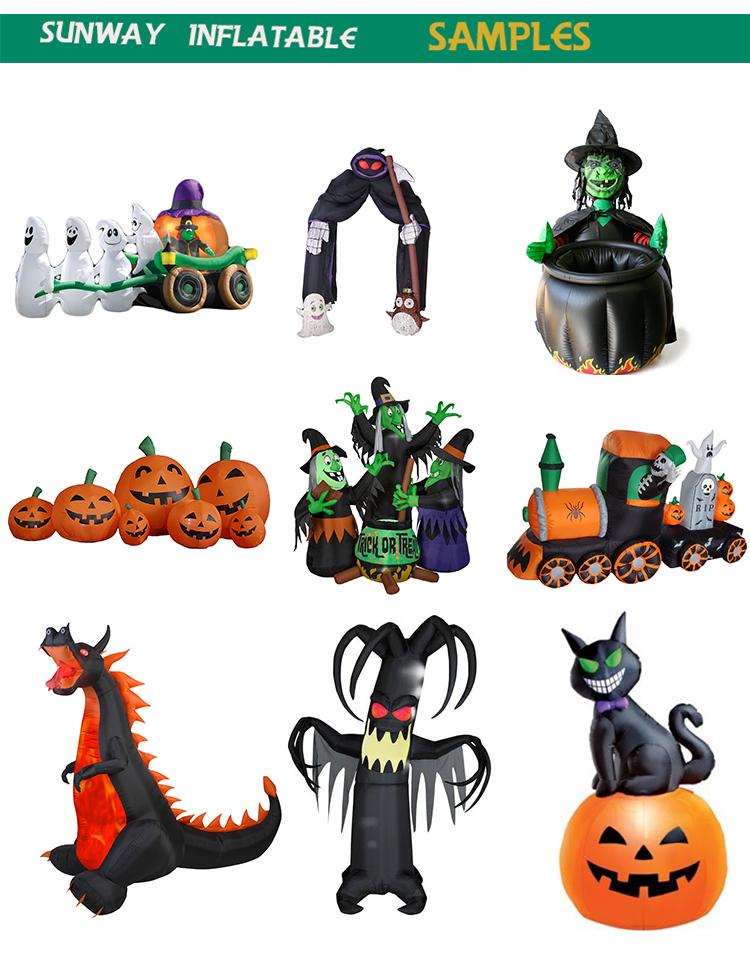 inflatable halloween decoration inflatable walking pumpkin costume