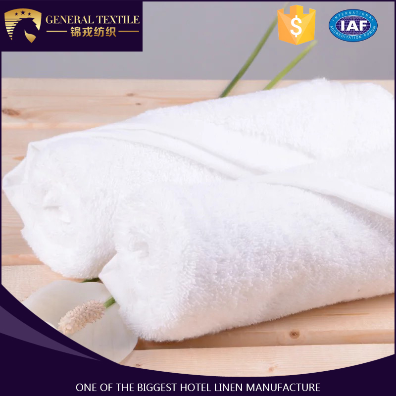 China Factory Wholesale Promotion 100% Cotton Customized Terry Towel Hotel Towel