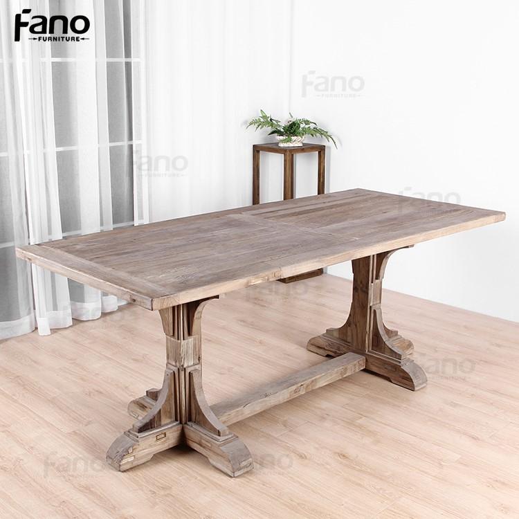 spcial conception rustique vieux bois table manger de haute qualit vintage rcupr table manger