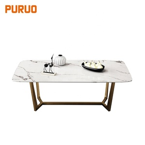 Modern marble home furniture center table top coffee table furniture