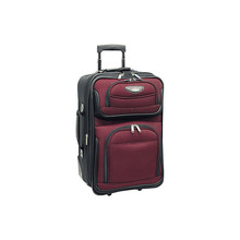 Most durable travel luggage expandable carry-on small rolling luggage trolley luggage