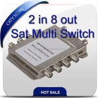 Satellite multi switch 2 in 8 out