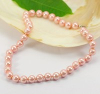 Wholesale dongguan Handmade high quality 10mm faux bali pearl jewelry