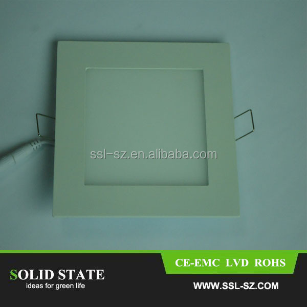 High Quality CE RoHs Customized Size 180x180x19mm LED Light Panel Square
