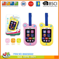 Plastic toy phone 2 items mixed mobile phone toy for kid