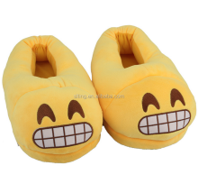 Winter Warm Comfort Velvet Indoor Anti-slip Emoji Slipper