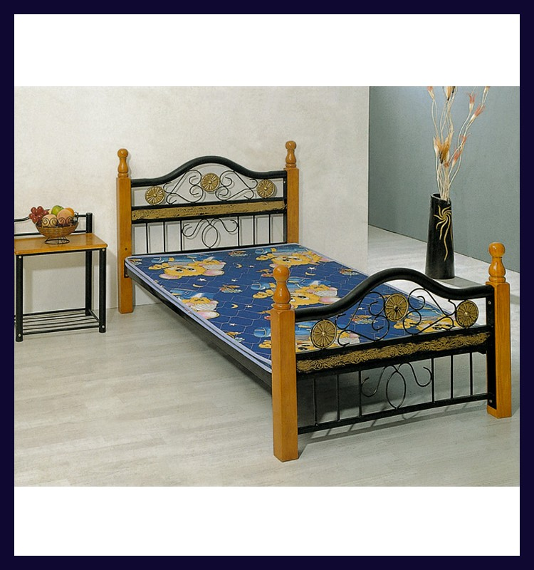 New Bed Room Furniture Folding Single Bed Design For
