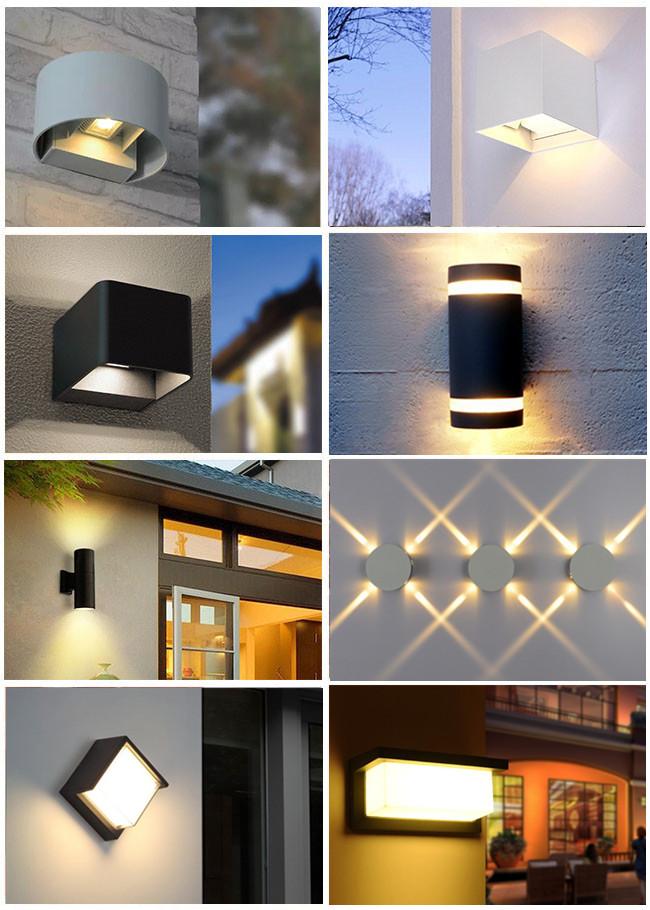 현대 실 내용 벽 조명 Stainless Steel GU10 벽 Lamp