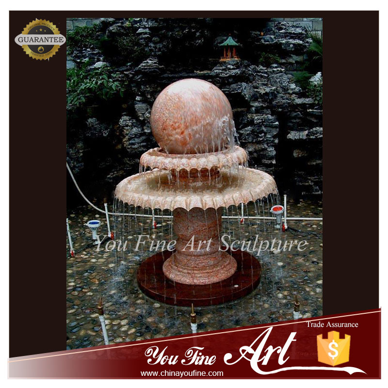 Modern Art Outdoor Marble Garden Fountain